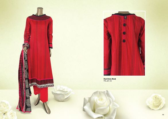 Junaid Jamshed Summer Lawn 2014 Volume 2 Collection for Women