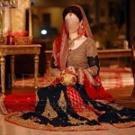 Latest Pakistani Bridal Dresses Lehenga Collection 2017