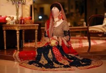 Fancy Latest Pakistani Bridal Dresses Lehenga Collection 2014