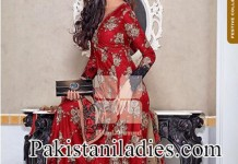 Gul Ahmed Eid Collection 2014 with Price for Girls And Women Long Shirt Shalwar Kameez Designs