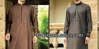 JJ. Junaid Jamshed Eid kurta Designs collection for Men & Boys 2014
