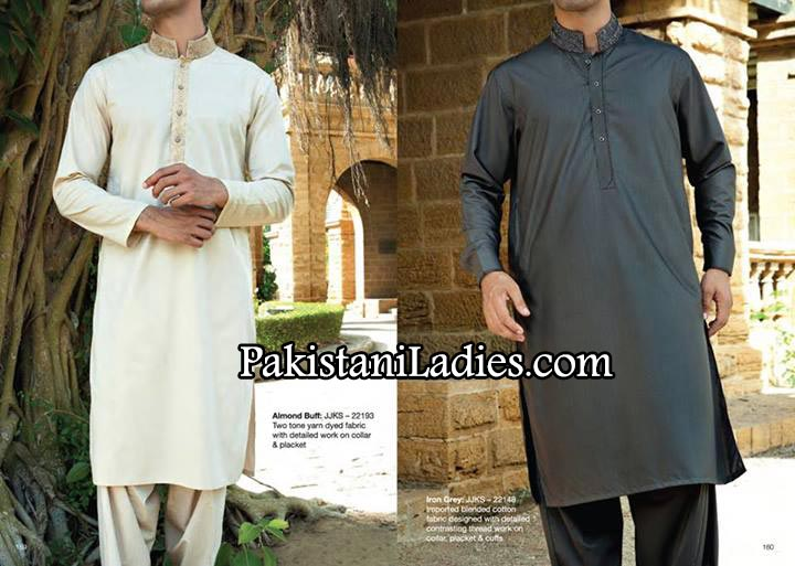 JJ. Junaid Jamshed kurta Designs collection for Men  Boys 2014 Summer Shalwar Kameez