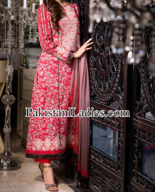 Khaadi Lawn - Eid Collection 2014 for Women and Girls Kameez Shalwar Designs Fashion Trends