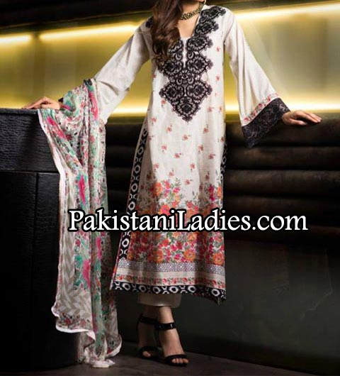 Khaadi-Lawn---Eid-Collection-2014-for-Women