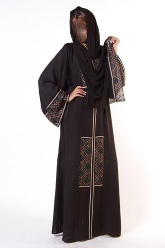 Latest-Abaya-Designs-2014-2015-Collection-in-Pakistan- Beautiful