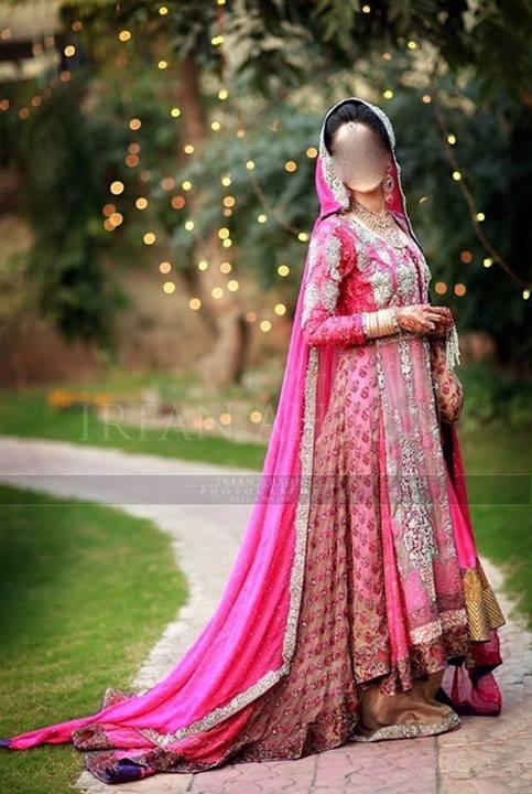 Latest Pakistani Bridal Dresses Lehenga Collection 2014 for Women India Beautiful