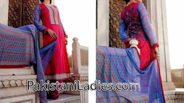 Latest trousers and long kameez designs 2014 for women & girls Fashion Trends