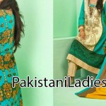 Shariq Textiles Lawn Collection 2014, Log Kameez Trouser Fashion