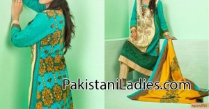 Shariq Textiles Lawn Collection 2014 for Mid Summer