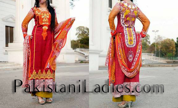Summer-Dresses-2014-Fashion-Trend-in-Pakistan-for-Girls-women
