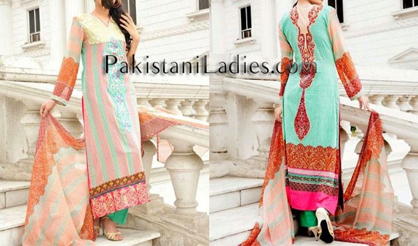 Summer-Dresses-2014-Fashion-Trend-in-Pakistan-for-Girls