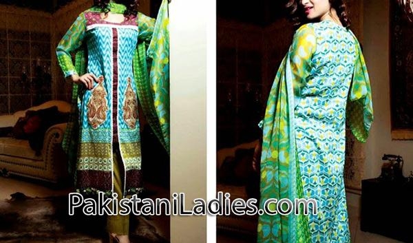 trousers and long kameez design 2014 for women & girls Fashion Trends