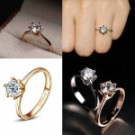 Designer Finger Rings Prices Stone Gold Diamond Picture Girls