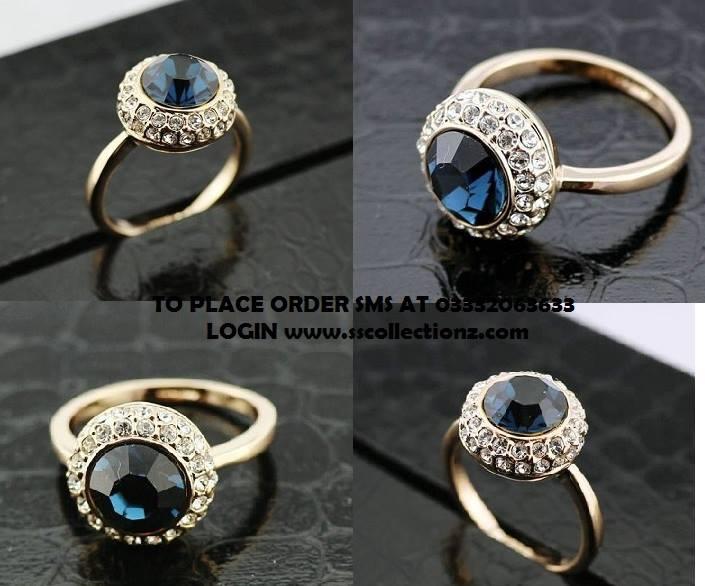 Designer Finger Rings Prices Stone Gold Diamond Picture