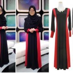 Cut Abaya Fancy Kaftan Jalabiya Burka Hijab Muslim Maxi Dress