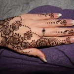Eid 2014 Simple Henna Mehndi Designs for Hands Images Facebook