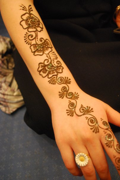 eid 2014 simple henna mehndi designs for hands images