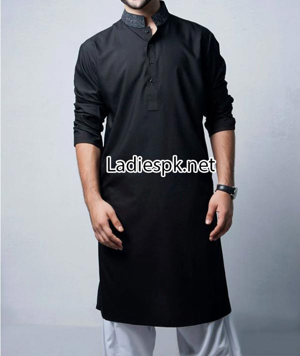 bonanza New Kurta Shalwar Kameez Suit Arrivals 2014 price for Eid Designs Collection for Boys Gent Men 3580