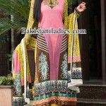 Dawood Lawn Collection 2014, Long Shalwar Kameez Fashion