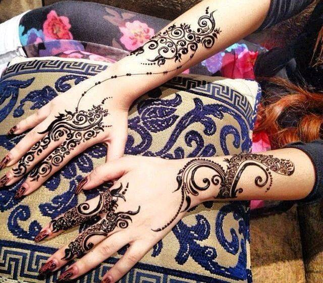 Easy & Beautiful Henna Mehndi Designs Images for free download