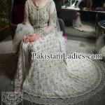 Bridal Wedding Dresses Walima White Frock in Pakistan 2017