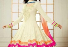 Latest Anarkali Frocks Dresses Designs 2014 2015 India Pakistan Bangladesh Fashion Trends Churidar Pajama