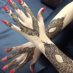Latest Henna Mehndi Designs for Bride Hands Images 2015 Trends