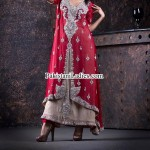 Open Shirt Designs 2017 with Sharara for Bridal Wedding & Party