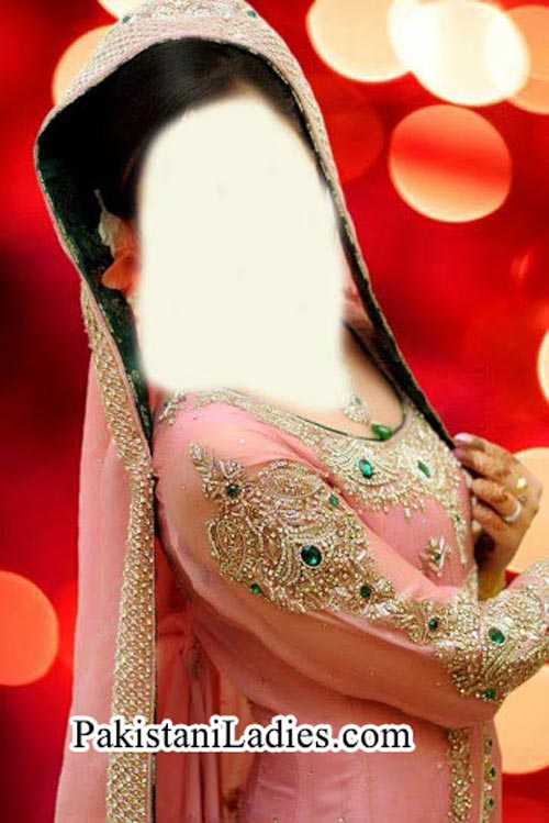 Fancy Bridal Dress Design for Walima 2014 2015