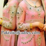 Beautiful & Fancy Best Bridal Walima Dress 2017 in Pakistan India
