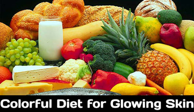 Beauty Tips Colorful Diet for Glowing Skin
