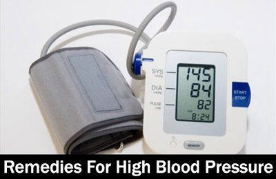 Best Home Remedies to Control High Blood Pressure