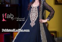 Fancy-Latest-Fashion-of-Black-umbrella-frock-Design-2014-2015-women-dresses-Party-Wedding-Pakistan-India-Bangladesh