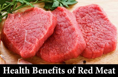 Five sure-fire health benefits of red meat