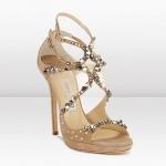Fancy High Heel Sandals Designs 2014 2015 for Girls Bridals