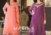Maria B Evening & Party Wear Dresses 2014 with Prices Shalwar Kameez Design Fashion 2015 PKR-8,625