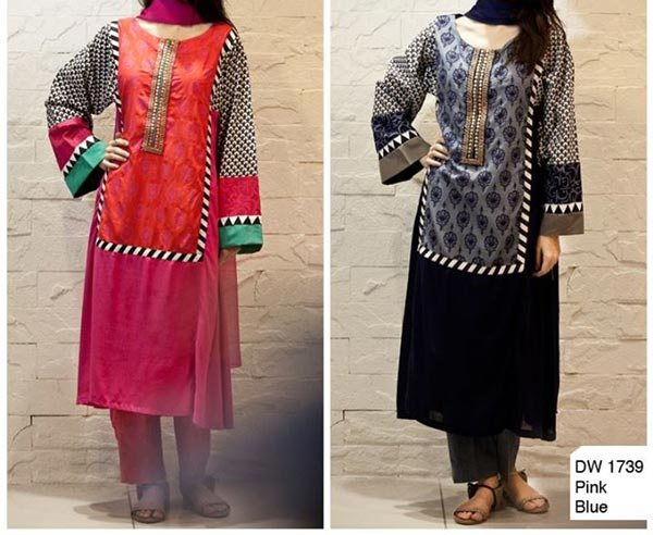 Maria B Evening & Party Wear Dresses 2014 with Prices Shalwar Kameez Designs PKR-4,500 2015