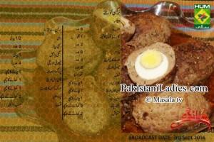 Pakistani-and-Indian-Recipes-in-Urdu-and-English-Nargisi-Koftay-Zubaida-Tariq-Show-Handi-on-Masala-TV-Facebook