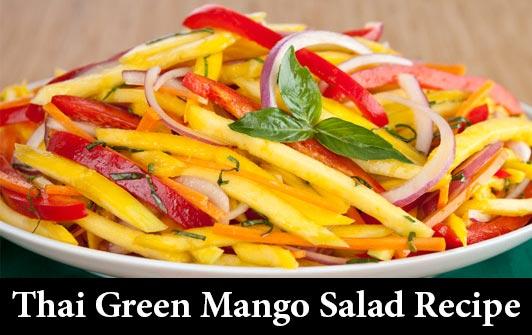 Thai Green Mango Salad Recipe in English