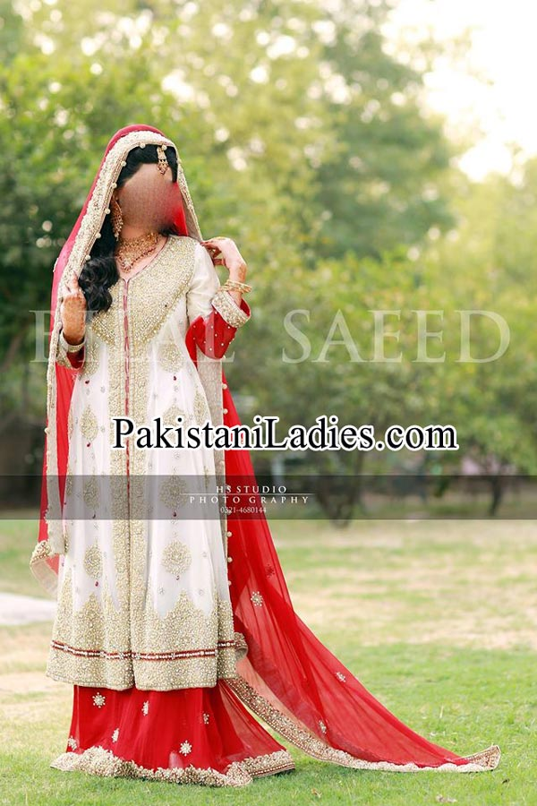bridal walima dresses Pakistani 2015 India fashion trends