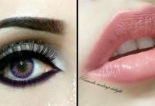 Arabic Smokey Eyes Makeup Tips Pics, Lenses Price in Pakistan