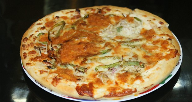 Green Malai Tikka Pizza Masala TV Handi Zubaida Tariq