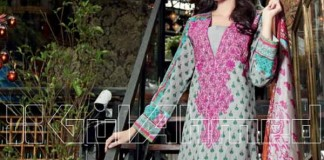Gul Ahmed Fashion Winter Dresses Collection 2014 2015 volume 1 for Women Girls