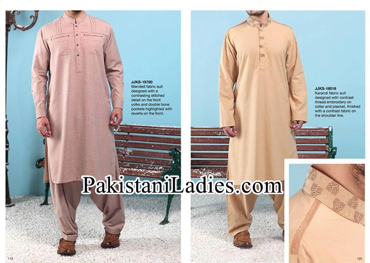 Junaid-Jamshed-Stylish-New-Arrivals-Winter-Kurta-Pajama,-Shalwar-Kameez-Designs-Collection-2014-2015