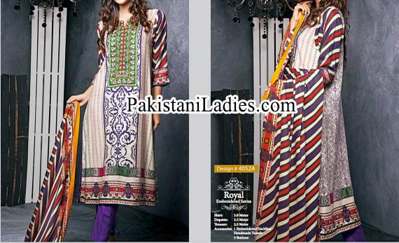 Long Kameez Fashion Ittehad Winter Collection 2014 2015 for Women and Girls Facebook
