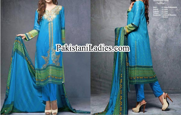 Shalwar Kameez Fashion: Ittehad Winter Collection 2014 2015 for Women and Girls