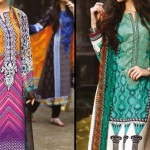 MARIA.B. Indian Pashmina Winter Dresses Collection 2014 2015