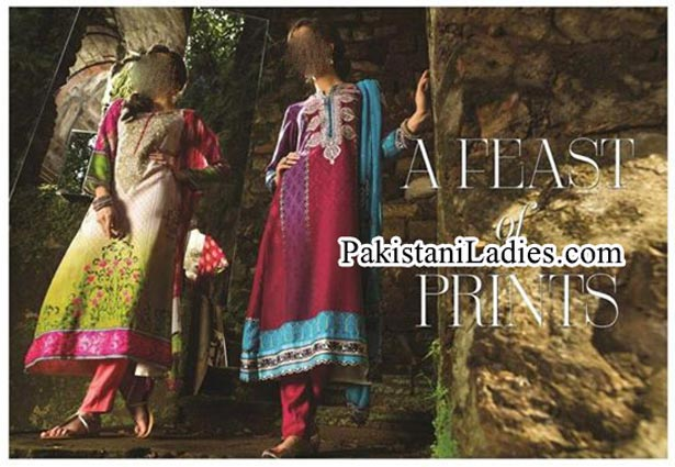 MARIA.B. Indian Pashmina Winter Dresses Salwar Kameez Designs Collection 2014 2015 for Women and Girls