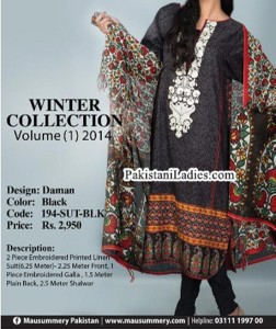 Mausummery-Winter-Cambric-Collection-2014-2015-with-Price-for-Women-Girls-Long-Shalwar-Kameez-Designs