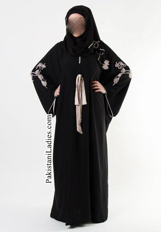 New Dubai UAE Stylish Abaya Burka Burqa Designs For Girls Women 2015 Saudi Arab Pakistan